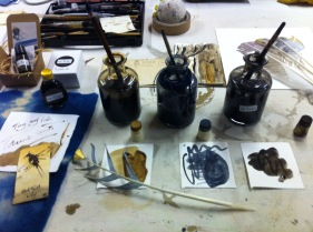 making inks